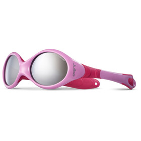 Julbo Looping III Spectron 4 Sunglasses Baby 2-4Y Pink/Fuchsia-Gray Flash Silver